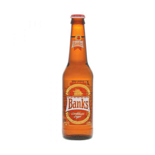 Banks Premium Caribbean Lager (4.7%, 24 x 330ml)