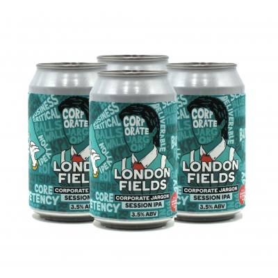 London Fields Corporate Jargon Pale Ale 3.5%