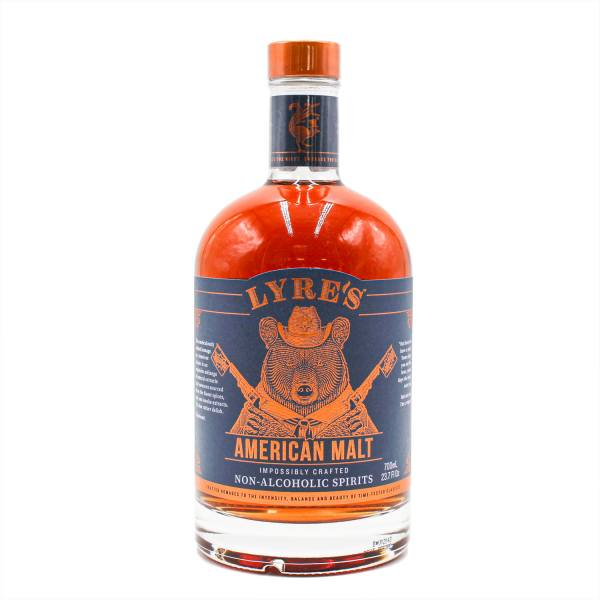 Lyre's American Malt, (0%, 70cl)