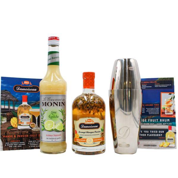 Damoiseau Mango and Passionfruit Daiquiri Kit