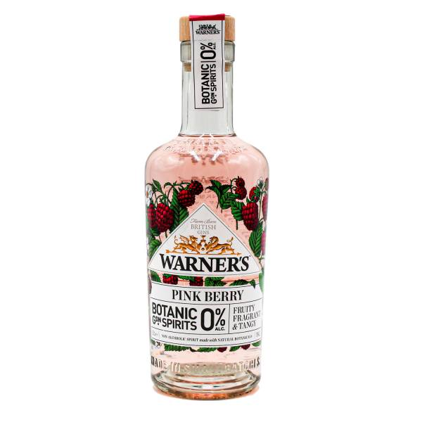 Warner's Pink Berry Botanic Garden Spirits (0%, 50cl)