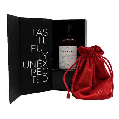 Bouvery CV Chocolate Liqueur + Valentine's Gift Box & Bag