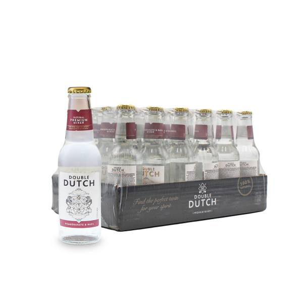 Double Dutch pomegranate and basil mixer (24 x 20cl)