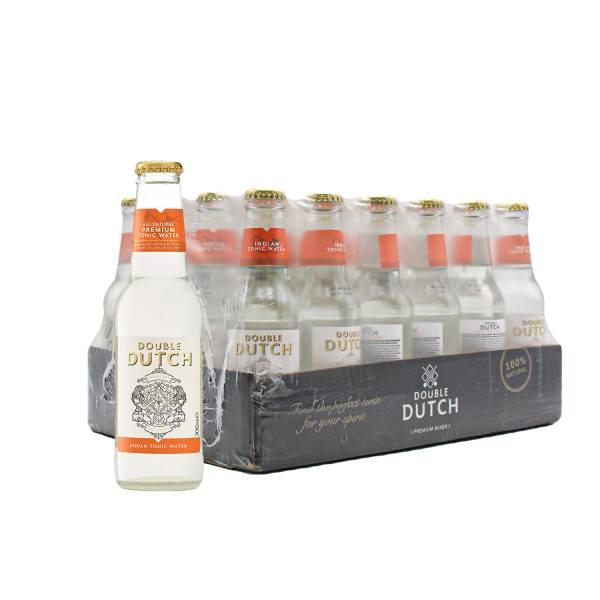 Double Dutch Indian Tonic Water (24 x 20cl)
