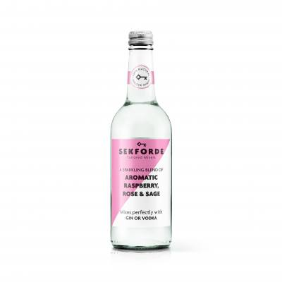Sekforde Raspberry, Rose & Sage Mixer for Gin or Vodka