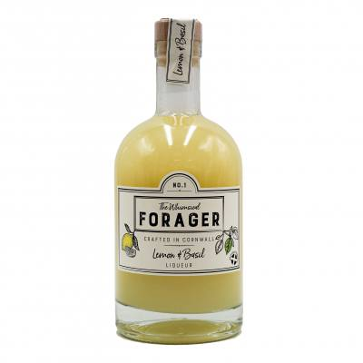 Whimsical Forager Lemon & Basil Liqueur