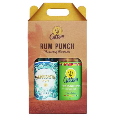 Cutters Rum Punch Gift Set