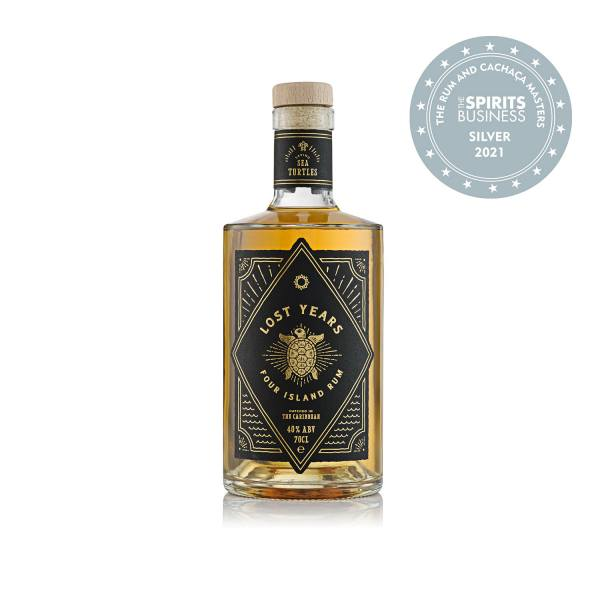Lost Years Four Island Rum (70cl, 40%)