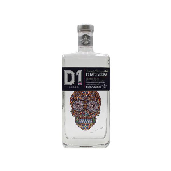 D1 Potato Vodka (40%, 70cl)