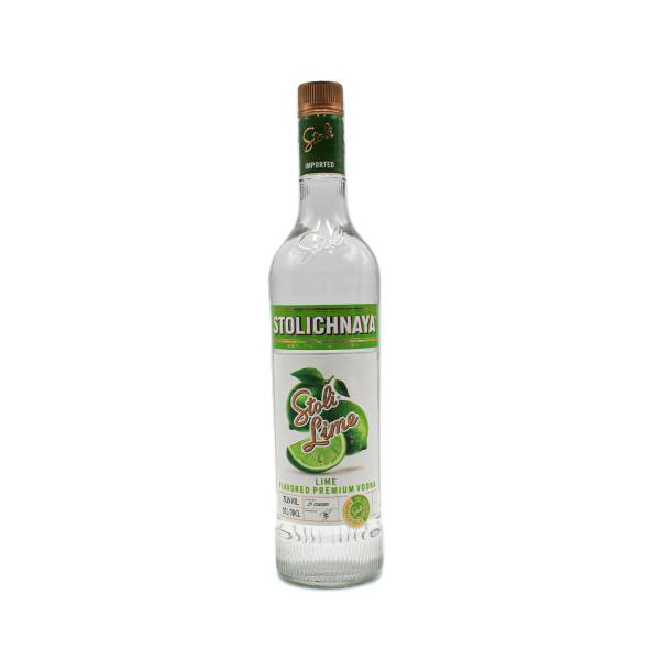 Stolichnaya Lime Vodka (37.5%, 70cl)