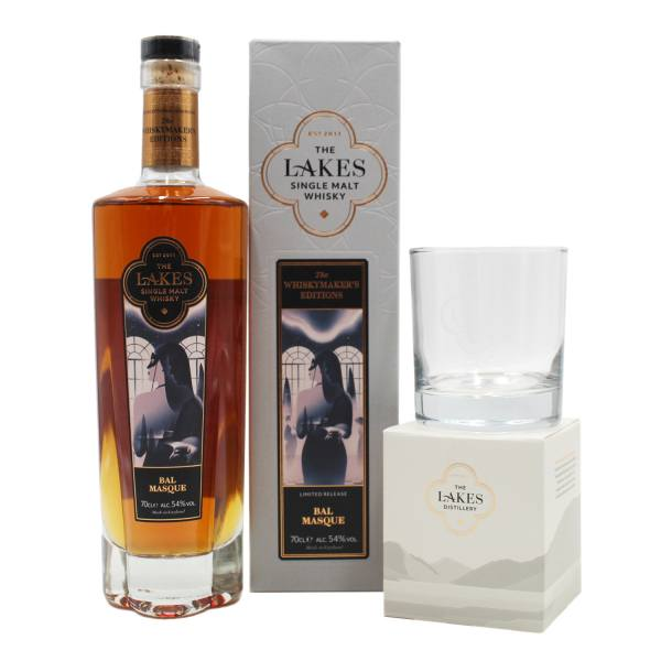 The Lakes Whiskymakers Edition Bal Masque (70cl, 54%)