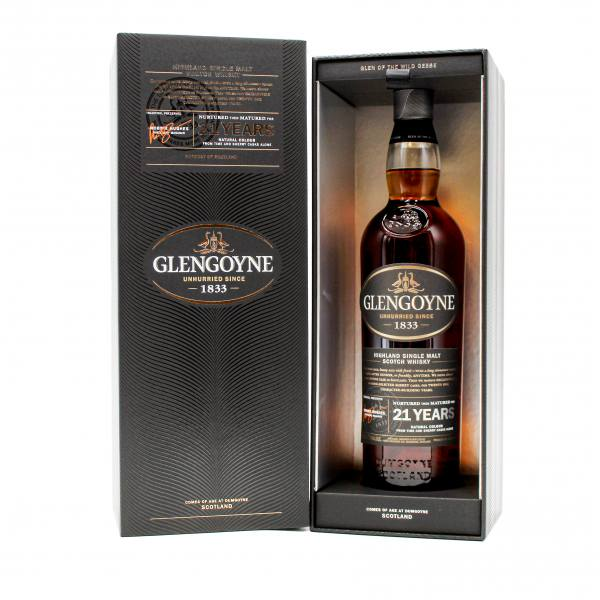 Glengoyne 21 Year Old Highland Single Malt Scotch Whisky