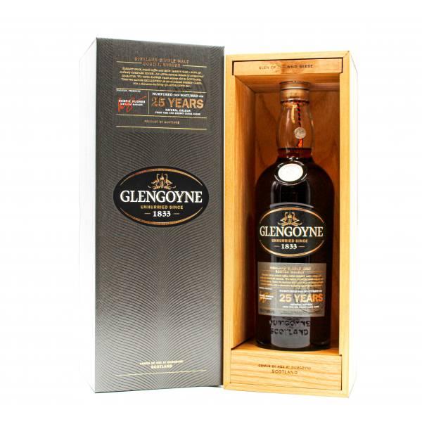 Glengoyne 25 Year Old Highland Single Malt Scotch Whisky