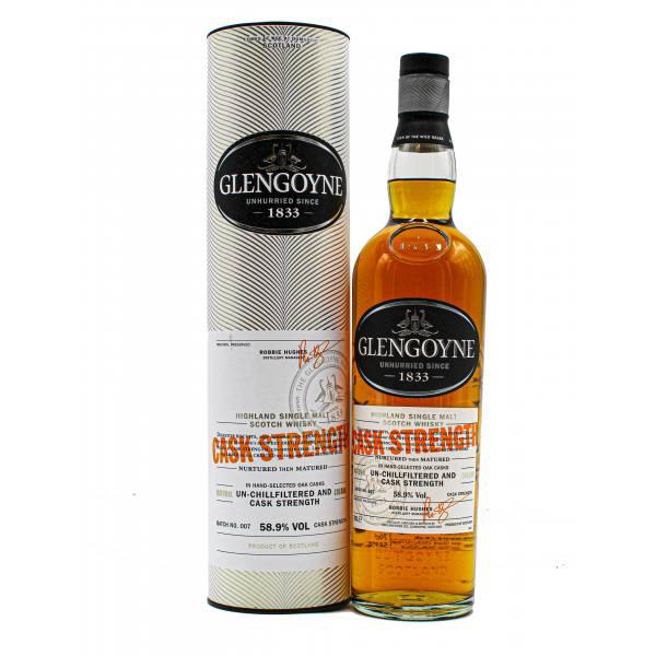 Glengoyne Cask Strength Batch 7 Highland Single Malt Scotch Whisky