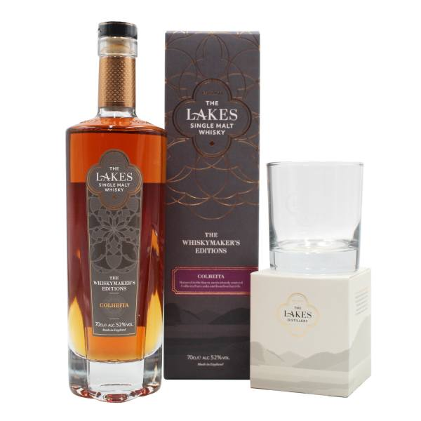 The Lakes Whiskymakers Edition Colheita (70cl, 52%)