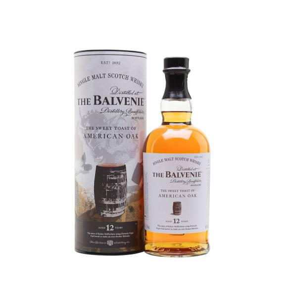 Balvenie 12 Year Old Whiskey (43%, 70cl)