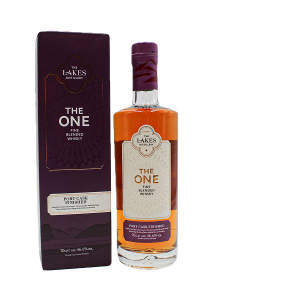 The Lakes Distillery - The One Port Cask Finished Whisky