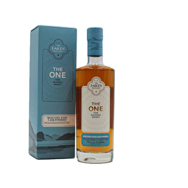 The Lakes The One Moscatel Cask Finished Whisky (46.6% ABV, 70cl)