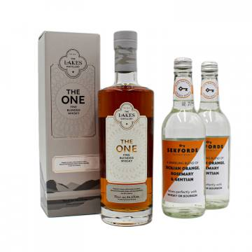 The Lakes The One Fine Blended Whisky + FREE Sekforde Whisky Mixers