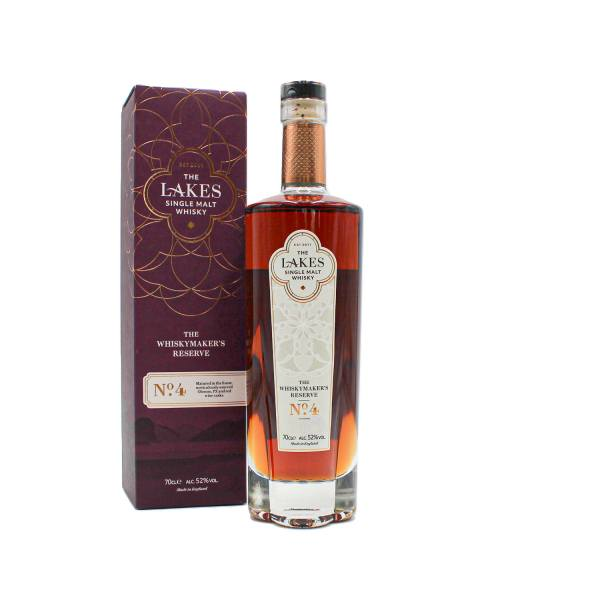 The Lakes Single Malt Whiskymaker's Reserve No.4 (70cl, 52%)