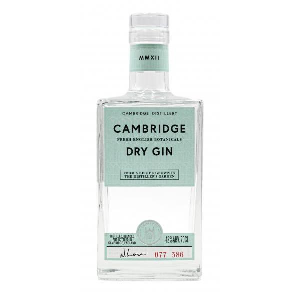 Cambridge Dry Gin (42%, 70cl)