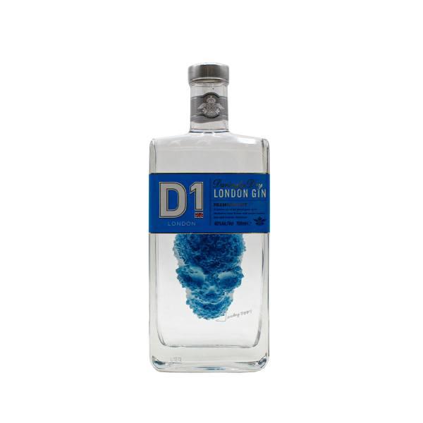 D1 London Gin (40%, 70cl)