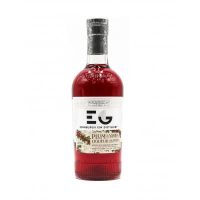 Edinburgh Plum and Vanilla Gin Liqueur.