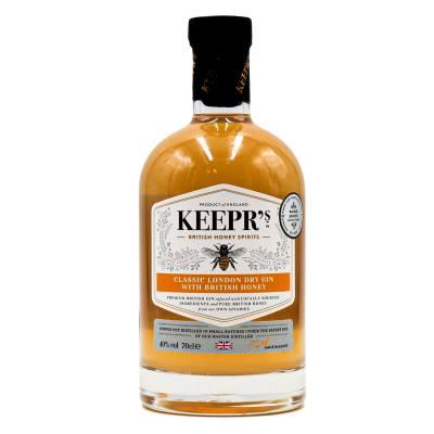 Keepr's British Honey Classic London Dry Gin