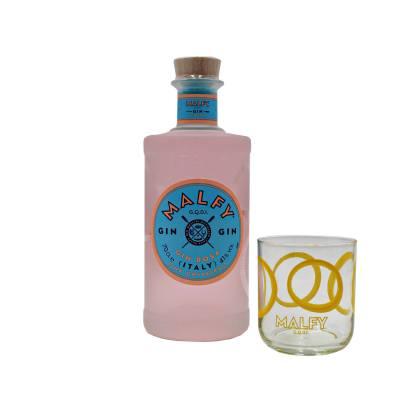 Malfy Gin Rosa + FREE Malfy Glass
