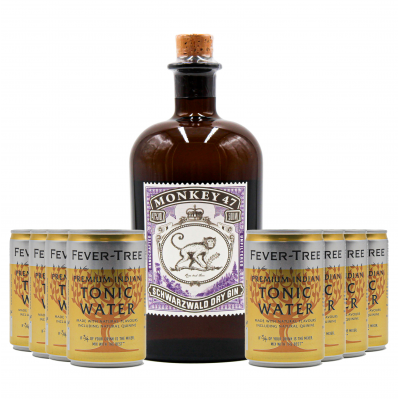 Monkey 47 Dry Gin +  Free Fever Tree Indian Tonic