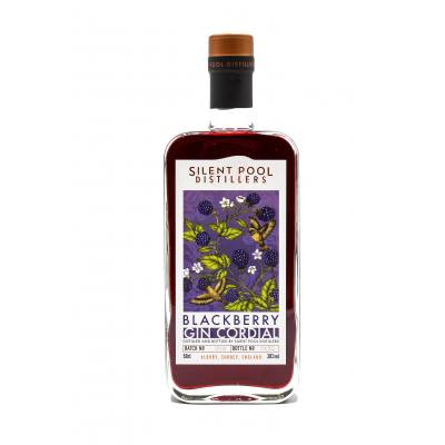 Silent Pool Distillers Blackberry Gin Cordial