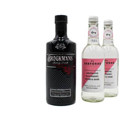 Brockmans Gin + FREE Sekforde Gin Mixers (x2)
