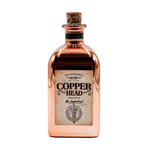 Copperhead Gin (40%, 50cl)