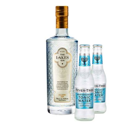The Lakes Distillery Classic Gin + 2x FREE Fever-tree Mediterranean Tonic