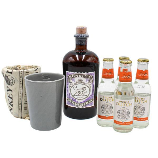 Monkey 47 Dry Gin Bundle (47%, 50cl)